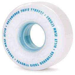 RICTA Skateboard Wheels 52MM CLOUDS WHITE 78a