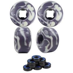 skateboard wheels set 52mm x 32mm 99a