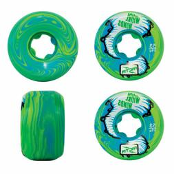 Ricta Skateboard Wheels Whirlwinds Blue/Green Swirl 53mm 99A