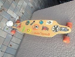 Skateboarding longboarding
