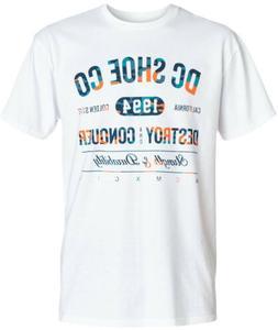 DC Skateboarding Shirt BERRY White