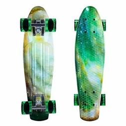 ENKEEO Skateboards 22 Inches Skateboard Complete Cruiser Pla