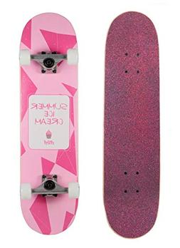 WiiSHAM Skateboards Pro 31 inches Complete Skateboards for T