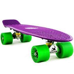 skateboards complete mini cruiser retro