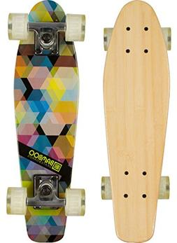 Bamboo Skateboards Complete Mini Cruiser Skateboard with Kal