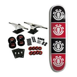 ELEMENT SKATEBOARDS Complete Skateboard TEAM QUADRANT 8.0