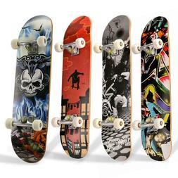 Skateboards for Beginners, Complete Skateboard 31 x 8, 7 Lay