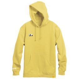 Enjoi Skateboards Hoody Premium Panda Pullover Flat Yellow