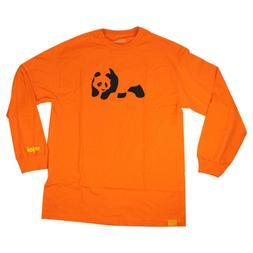 Enjoi Skateboards Longsleeve Shirt Panda Orange