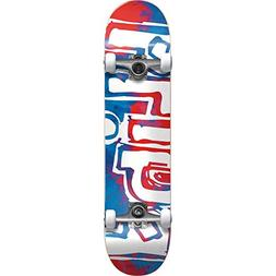 Blind Skateboards OG Watercolor Red/Blue Mini Complete Skate