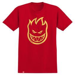 Spitfire Skateboards Shirt Bighead Red/Yellow