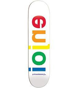 Enjoi Spectrum Deck - 7.75 White