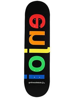 Enjoi Spectrum HYB Skateboard Decks Black 8.25