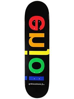 "Enjoi Spectrum Skateboard Deck, Black, 31.7"" L x 8.0"" W x 14"