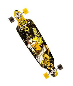 Punisher Skateboards Steampunk Drop-Through Canadian Maple L