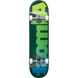 Almost Straight Faded Youth Skateboard Complete,6.75MC,Green