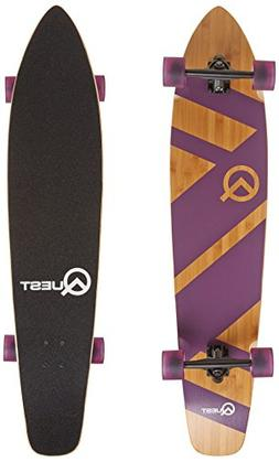 """The Quest Super Cruiser Purple Artisan Bamboo and Maple 44"""""""