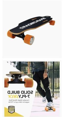 Swagtron - Swagboard Nextgen Ng-1 Electric Skateboard - Blac