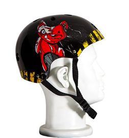 Punisher Skateboards Teddy 11-Vent Skateboard Helmet, Youth