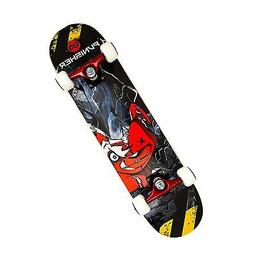 Punisher Skateboards Teddy Complete 31-Inch Skateboard with