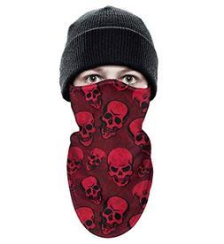 srygjukuu Tough Headwear red Calavera Candy Skull a Day of D