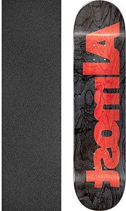 Almost Skateboards Ultimate Black Skateboard Deck Resin-7-8.