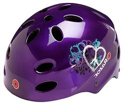 Razor V-17 Youth Muli-Sport Helmet, Purple Peace