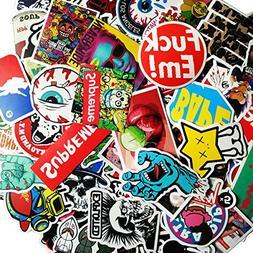 SupplyPro 100PCs Waterproof Graffiti Stickers - Random Style
