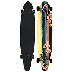 Krown Wave Sunset Complete Longboard Skateboard