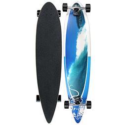 Krown Wave Crest Pin Complete Longboard Skateboard