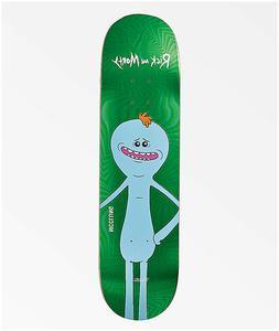 "Primitive X Rick and Morty Mr Meeseeks Skateboard Deck 8.0"""