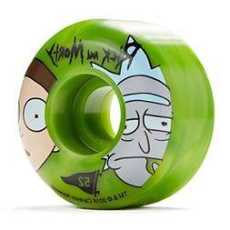 Primitive x Rick and Morty Swirl Skateboard Wheels - Green -