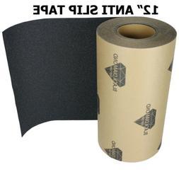 "12"" x 10' BLACK Roll Safety Non Skid Tape Anti Slip Tape Sti"