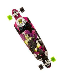 Punisher Skateboards Zombie Drop-Through Canadian Maple Long